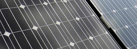 単結晶シリコン太陽電池パネル